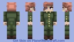 Noriaki Kakyoin | Stardust Crusaders Minecraft Skin