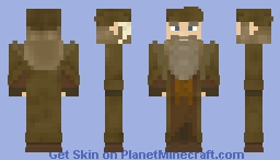 RADAGAST the brown /o castanho Minecraft Skin
