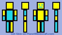 Robtop Minecraft Skin