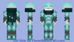 Frozen Knight Minecraft Skin
