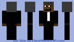 Barack Obama Minecraft Skin