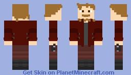 Avengers: Infinity War - Star Lord Minecraft Skin
