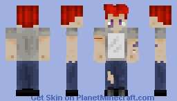 bullied guy Minecraft Skin