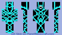 neon robot Minecraft Skin