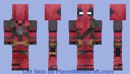 Deadpool 7-7 Minecraft Skin