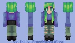 Sea Queen :: Minecraft skin Minecraft Skin