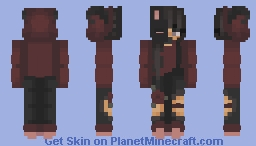 Half-Bunny mask Minecraft Skin