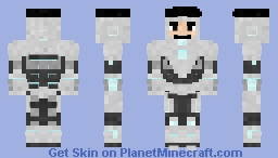 Superior Iron-man Minecraft Skin