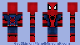 Spider-man Homecoming Minecraft Skin