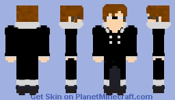 The Observer - Human Form (Necros RP) Minecraft Skin