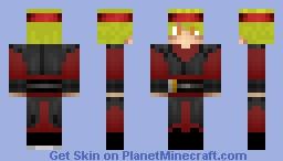 Custom Sith (older skin) Minecraft Skin