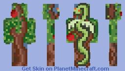 ﴾ξꭚꞕꝍ₮₮ἷ﴿ Wannabe A Flying Snake In A Tree Minecraft Skin