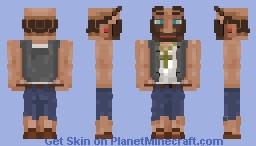 ﴾ξꭚꞕꝍ₮₮ἷ﴿ Old Biker (3D-Skin) Minecraft Skin