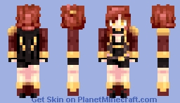 [Kari] Valkyrie Triumph Minecraft Skin