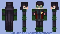 Robin Injustice 2 Minecraft Skin