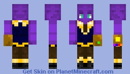 Thanos (Infinity War Series) Minecraft Skin