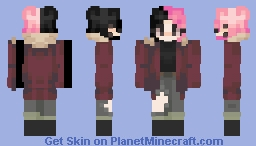 Lil Peep (rip) female version Minecraft Skin