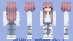 ❦ fяєѕн ℓιиєи ~Inspirinq Minecraft Skin