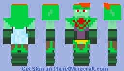 Agatio - Golden Sun: The Lost Age Minecraft Skin