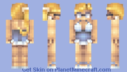 Let's Hit The Beach! Minecraft Skin