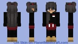 Miss Mickey x)  Minecraft Skin