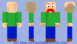 Baldi (Baldis Basics in Education and Learning) Minecraft Skin