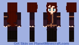 Bethany the Brown Haired Noble Minecraft Skin