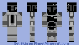 Boba Fett (Black n' White) Minecraft Skin