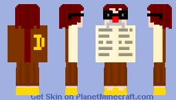 "LOOK UP ""TO DISGUISE"" AND SEE... Minecraft Skin"