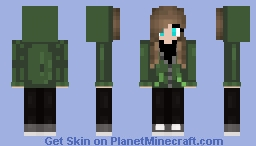 Me as a Girl request for Celinchen911 Minecraft Skin