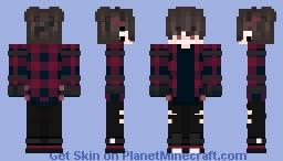 《✫𝒞𝑜𝒹𝑒𝒸3✫》*Maya* Minecraft Skin