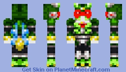 Commander Yammark [mmx6] Minecraft Skin