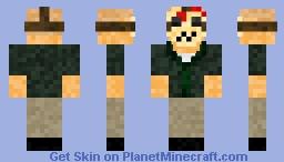 Jason Voorhees Part 4 Minecraft Skin