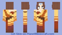 𝓡𝓸𝔃𝒆 || Avatar | Air Acolyte Minecraft Skin