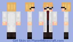 SCP Foundation: Dr. Simon Glass Minecraft Skin