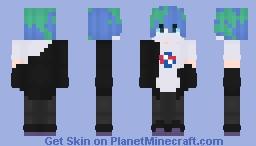~Earth-Kun~ Minecraft Skin