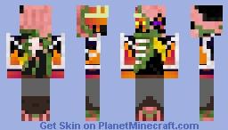 Ender-Pigman-Blaze Lord Minecraft Skin