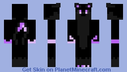 Iceyheart's Enderman colors Minecraft Skin