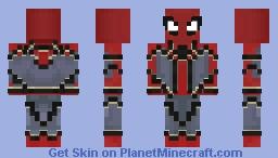 IronSpider IW (Better) Minecraft Skin