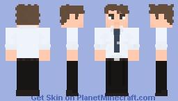 Jim Halpert - The Office Minecraft Skin