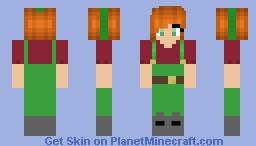 Lacie Benton // lila (BATIM) Minecraft Skin