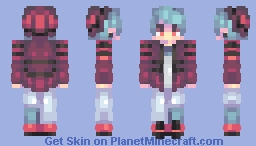 Laid Back 'n' Chilled Out Minecraft Skin