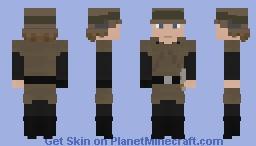 Star Wars: Luke Skywalker Endor Minecraft Skin