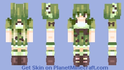 Matcha (*´艸`*) [OC] Minecraft Skin
