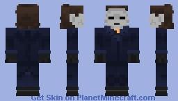 Halloween Michael Myers Minecraft Skin