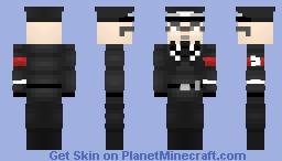 Heinrich Himmler (Member of NSDAP {German Nazi Party) Minecraft Skin