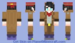 《✫𝒞𝑜𝒹𝑒𝒸3✫》*Ray* Minecraft Skin