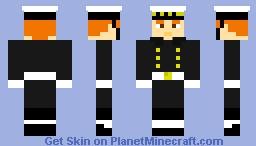 Royal Navy Sailor (with Sailor Cap) Minecraft Skin