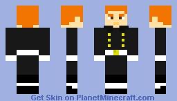 Royal Navy Sailor (without Sailor Cap) Minecraft Skin