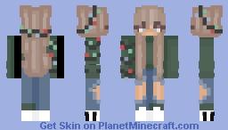 ( ´ ▽ ` ) Minecraft Skin